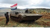 Suriye Ordusu, Hama Kırsalında Teröristlere Ait Araç Konvoylarını İmha Etti.
