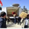 Suriye'nin Yelda, Bebbila ve Beyt Sahm Beldelerine İnsani Yardım Kafilesi Geçirildi