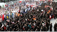 Cefakar Bahreyn Halkının Diktatör Rejime Karşı Gösterileri Sürüyor
