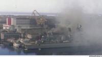 Nükleer denizaltıda yangın çıktı