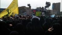 Foto: Cuma Namazı Sonrası İran'da Yemen Halkına Saldıran Siyonizm Uşakları Protesto Edildi.