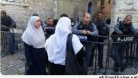 Korsan İsrail Mahkemesi Kudüslü 3 Kadına Mescid-i Aksa'dan Uzaklaştırma Cezası Verdi