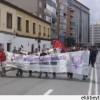 Madrid'de NATO'ya karşı yürüyüş düzenlendi