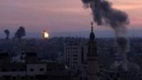 Siyonist İsrail uçakları, teröristlere havadan destek amacıyla Suriye'ye saldırdı