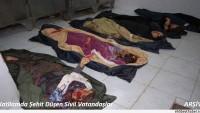 Tekfiri Terör Örgütleri Suriye Cisr el Şuğur Bölgesinde Korkunç Katliama İmza Attı: 30 Şehid