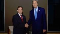 ABD ve Küba Dışişleri Bakanları 56 Yıl Aranın Ardından En Üst Düzey Görüşmeyi Gerçekleştirdi