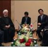 İran Cumhurbaşkanı Hasan Ruhani, Japonya Başbakanı Shinzo Abe İle İkili İlişkileri Ele Aldı