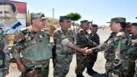 Suriye Savunma Bakanı, Ordu Birliklerini Ziyaret Ederek Beşşar Esad'ın Selamlarını İletti