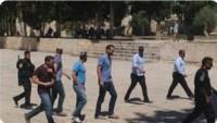 Siyonistler, Mescid-i Aksa'nın Kapılarında Şarkı Söyleyip Dans Etti
