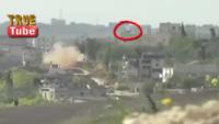 Video: Cisr eş Şuğur'da Tepede Saklanmış Teröristlerin Kamera İle Çekim Sırasındaki Avlanma Görüntüleri