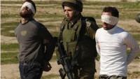 Korsan İsrail Güçleri Batı Yaka'nın Kuzeyinde Filistinli 3 Genci Gözaltına Aldı