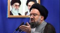 Tahran Cuma Hatibi Ayetullah Hatemi: Müzakere Heyeti, Zerre Tehdit Hissederse Müzakereleri Terk Etmeli