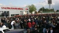 Tofaş Fabrikasında İşçiler Yine Eylem Başlattı