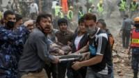 Nepal'de 8 gün sonra 3 kişi enkazdan sağ çıkarıldı