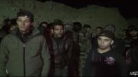 Şam'da 98 Kanun Kaçağı Daha Silahlarıyla Teslim Oldu