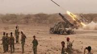 Yemen ordusu Suudilerin mevzilerini balistik füzeyle vurdu
