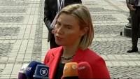 Mogherini'den ABD'nin Fars Körfezi'ndeki kışkırtıcı girişimine tepki