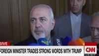 Zarif: Liderimize yaptırım, İran milletine hakarettir