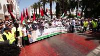 Fas'ta Yüzyılın Anlaşması ve Bahreyn çalıştayı protesto edildi