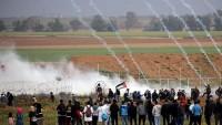 Siyonist İsrail Güçleri Dünkü Cuma Gösterilerine Katılan Filistinlilere Ateş Açtı: 49 Yaralı