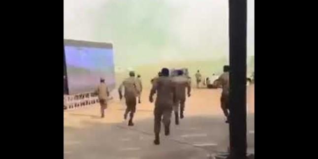 Video: Suud ordusunun terörle! mücadele ekibinden dev tatbikat!!