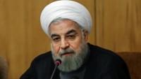 Hasan Ruhani: ABD'liler yanlış girişimlerine son versinler