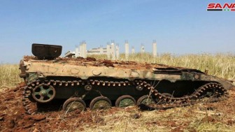 Suriye Ordusu İdlib ve Hama Kırsallarında Teröristlerin Araç ve Karargahlarını İmha Etti