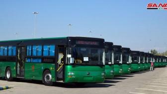 Çin, Suriye'ye Şehir İçi Ulaşımda Kullanılacak 100 Otobüs Gönderdi