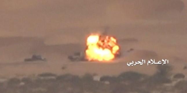 Suudi İşgalcilerine Ait 4 Zırhlı Araç İmha Edildi