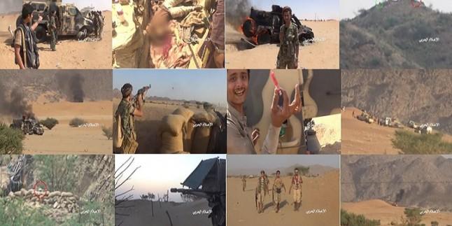Yemen Hizbullahı 3 Tank, 5 Zırhlı Araç Ve Onlarca Suud Askerini İmha Etti