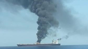 İran petrol tankerlerinin mürettebatını kurtardı