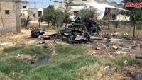Suriye Ordusu Tel Malah Ekseninde Terör Gruplarının Saldırısını Çökertti