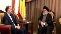 Emir Abdullahiyan, Lübnan Hizbullah Lideri Seyyid Hasan Nasrullah İle Görüştü