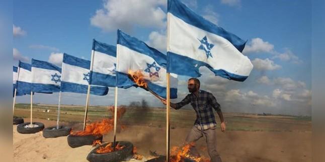 """Gazze Halkı """"İşgal Rejimi Bayrağı Yakma"""" Cuması Gösterilerine Hazırlanıyor"""