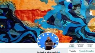 Mogherini'den İran haritasıyla ilgili skandal paylaşım