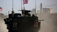 Suriye'nin Haseke bölgesinde ABD'nin üssüne yeni askeri teçhizat intikali sürüyor