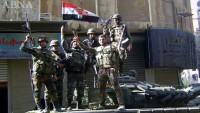 Suriye ordusu Hama'nın kuzeyinde el'Erbain köyünü teröristlerden kurtardı