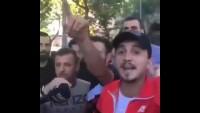 İstanbul'da Suriyelilere destek amaçlı düzenlenen eyleme verilen tepkiler.