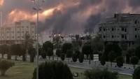 Aramco'da yangın; İHA saldırısı doğrulandı