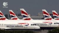 British Airways pilotları grevde; 850 sefer iptal