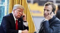 Trump'tan Macron'a: İran'a yönelik yaptırımlar azaltılmayacak