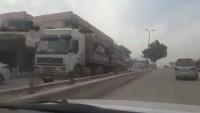 Katil Amerika, Haseke'de ki teröristlere 150 kamyon silah gönderdi