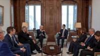 Esad: Avrupa'nın Suriye'de Yaşananlarla İlgili Tutumu Baştan Beri Yanlıştı