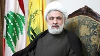 Şeyh Naim Kasım: Siyonist rejimin denklemlerini dayatma zamanı sona ermiştir