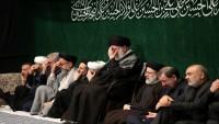 İslam İnkılabı Rehberi huzurunda Şehitler Efendisi -as- için matem merasimi