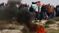 74. Büyük Geri Dönüş yürüyüşünde 55 Filistinli yaralandı