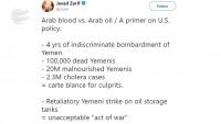 Cevad Zarif: Araplar'ın petrolü Amerika için kanlarından daha değerli