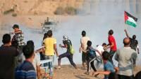 Siyonist İsrail saldırısı: 1 Filistinli şehit 52 yaralı