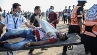 Siyonist İsrail güçleri Filistinlilere saldırdı: 46 yaralı