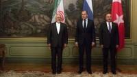 İran, Türkiye ve Rusya dışişleri bakanları görüştü